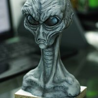 gray alien for salvera studios