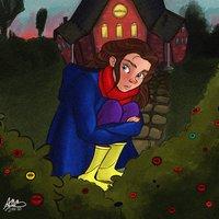 Ilustración digital infantil- Neil Gaiman