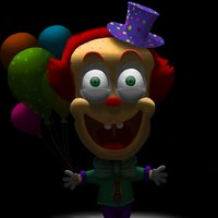 clown of loneliness