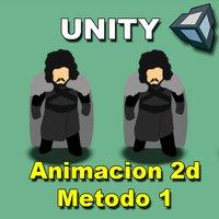 Como hacer una animacion 2D en Unity (Metodo 1)
