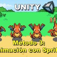 Unity: Animacion 2D (Metodo 3) | Charizard