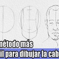 Como dibujar la cabeza en cualquier ángulo - Frontal