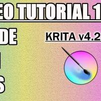 Tutorial 12 Krita en Español - Menus (Imagen y Capa)