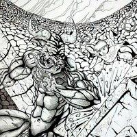 El Teseo vs minotauro