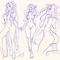 Sketch de Diosa