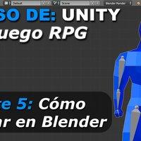 Como crear un juego RPG - Parte 5: Riggear Personaje 3D