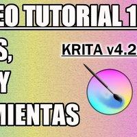 Tutorial 14 Krita en Español - Paneles y Menús (Ventana y Herramientas)