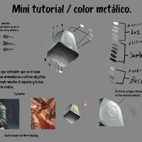 color metalico