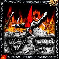 Moribund/Draugen split promotional collage