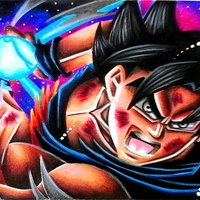 Como dibujar a Goku Ultrainstinto  semi-realista