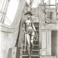 Nectari, the Admiral of the Pirates