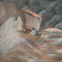 Tormenta y mar