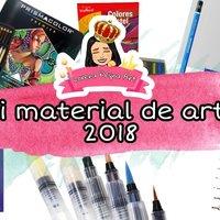 Mis Materiales de Arte 2018