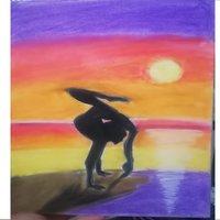 Bailarina al amanecer