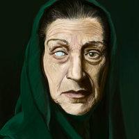 Rostro anciana