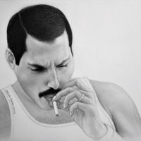 FREDDIE MERCURY -  1985 - Taking a Break