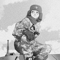 Communist Soldier Girl
