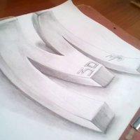 Dibujos a lapiz asombroso - art 3d on paper - YouTube