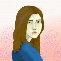 retrato de chica