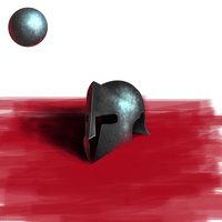 Práctica Pintura digital- V2  Casco de Metal