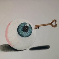 los ojos son la ventana al alma y con la llave se abrira
