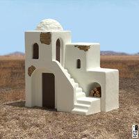 Casa en el desierto