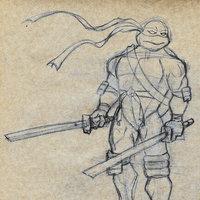 Dibujando una Tortuga Ninja - Leonardo