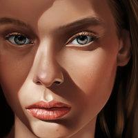 Retrato de Lauren de Graaf