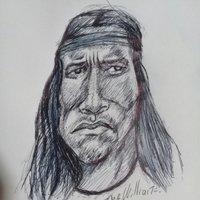 Caricatura de Conan
