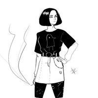 Chica gótica