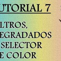Tutorial 7 Krita en español - Filtros, Degradados y Selector de Color