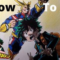 Cómo dibujar personajes de Boku No Hero