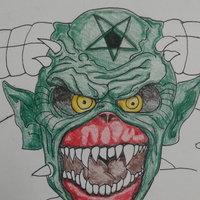 Dibujo en proceso Eddie Iron Maiden