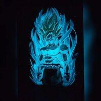 Goku Glow Art