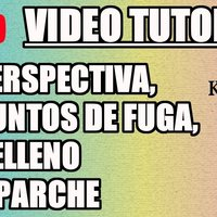 Tutorial 8 Krita en Español - Perspectiva, Reglas, Parche y Relleno