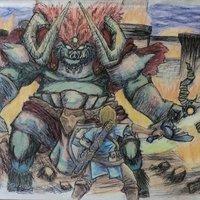 Super smash bros ultime  boss Ganon