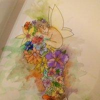 Hada de flores