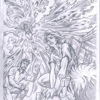 Santeria (Aspen Comics) cover proposal