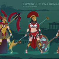 LAYNA the rebel spartan