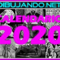 Calendario DIBUJANDO.NET 2020 terminado