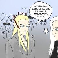 Thranduil y Lucius