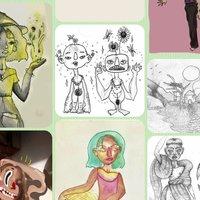 Dibujos de portfolio 4