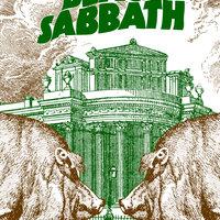 Black Sabbath - Poster Single Ilustrado
