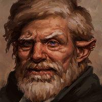 Halfling divination wizard (Viktor Ornthrund)