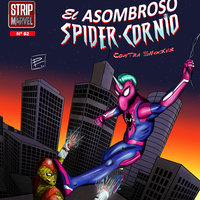 El Nº 2 de Spider-Cornio: Contra Shocker