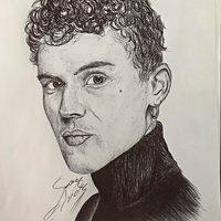 Dibujo de Arón Piper