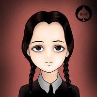 Merlina Addams - Manga Anime