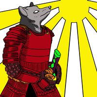 Samurai wolf