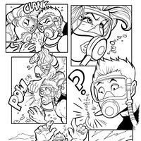 Pagina de comic