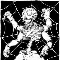 Concept art - El ser-araña